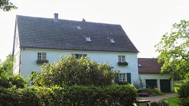 Photo: Fachwerkhaus Wolfskuhler Weg 64 ,Im Viersen' - in idyllischer Lage am ,Rauten-Weg'.