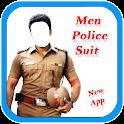 Men Police Suit Photo Maker New icon