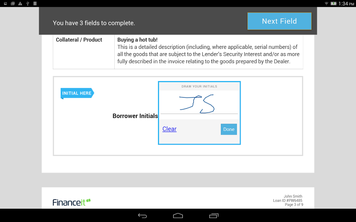 Financeit- screenshot