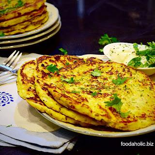 Spicy Mashed Potato Pancake