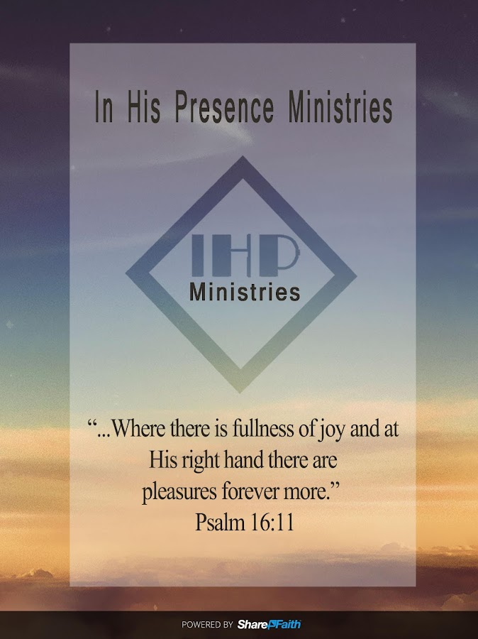 In His Presence Ministres- screenshot