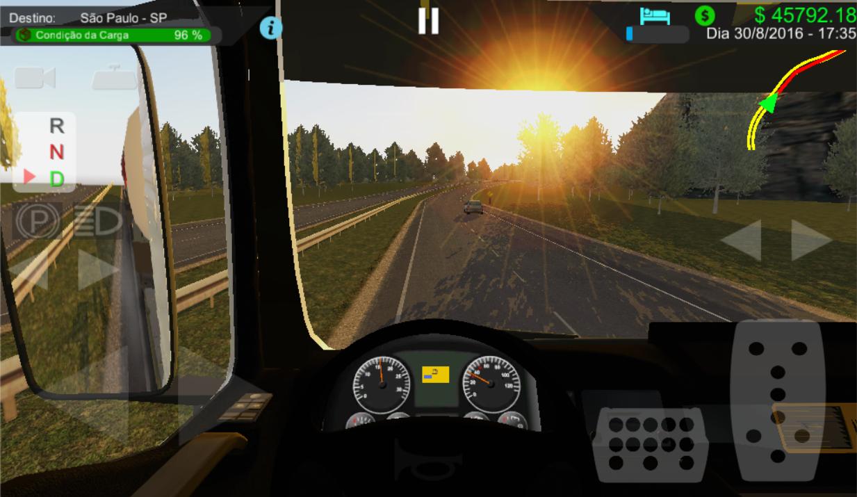 Heavy Truck Simulator- screenshot