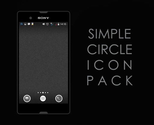 Simple Circle Iconpack