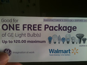 Photo: Already excited about the choices of light bulbs to grab for my donations. Look at all those bulbs!