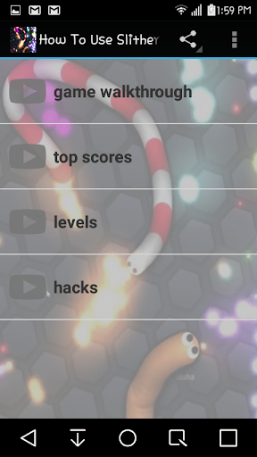 How to use slither.io Guide