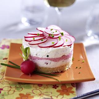 Savory Cream Cream and Taramasalata Tarts
