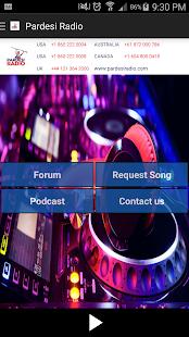 Official Pardesi Radio screenshot