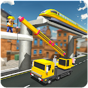 Download Elevated Train Track Builder : Subway Craft 2018 APK for Android Kitkat