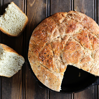 NO KNEAD SKILLET BREAD Recipe
