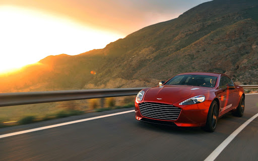 Aston Martin launches the Rapide S