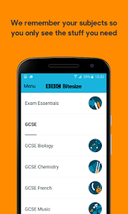 BBC Bitesize - Revision- screenshot thumbnail