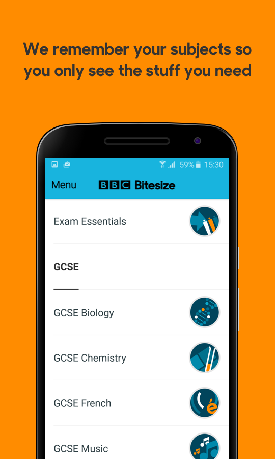 Bbc bitesize revision android apps on google play bbc bitesize revision screenshot urtaz Images