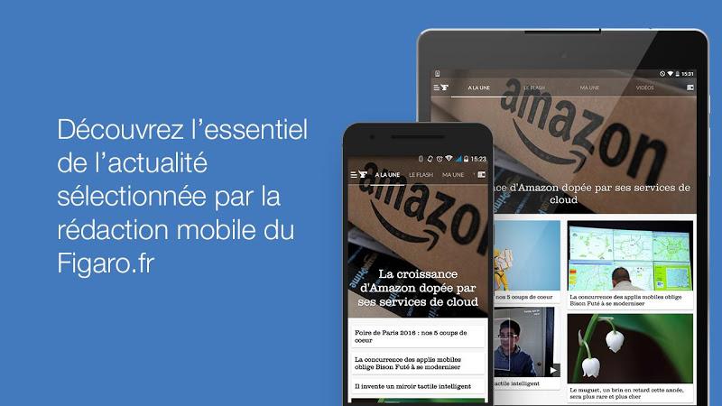 Le Figaro.fr: Actu en direct Screenshot 5