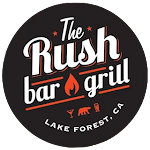 Logo for Live Band Karaoke - Rush Bar and Grill
