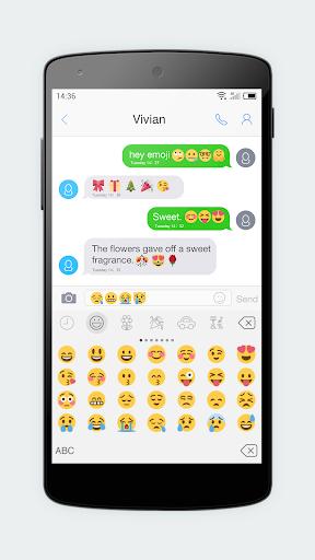 Emoji Keyboard 7 - Cute Sticker, GIF, Emoticons 7.93 screenshots 6