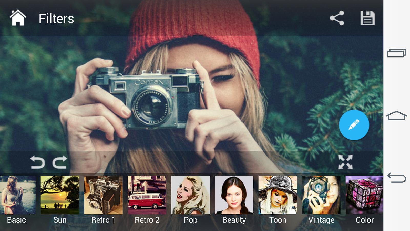 Photo Editor - Pixerist FX Pro- tangkapan layar