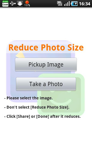 Reduce Photo Size screenshot 1