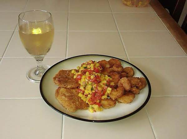 Fresh Peach Mango Salsa Recipe With Talapia
