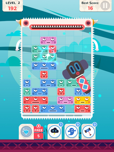 Slidey Block Blast screenshot 14