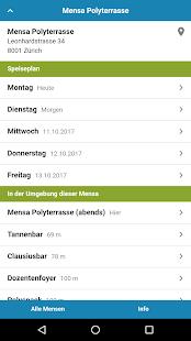 Mensa Zürich - náhled
