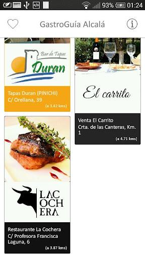 GastroGuía Alcalá 玩旅遊App免費 玩APPs