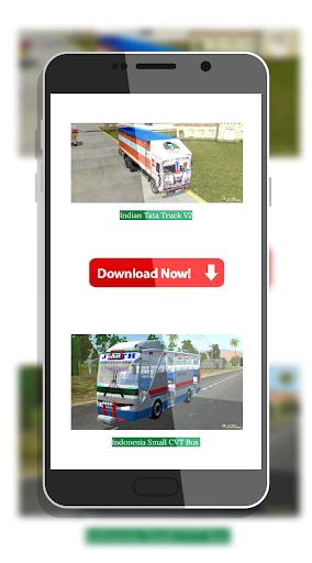 Tamil Bus Mod Livery | Indonesia Bus Simulator 1.1 screenshots 2