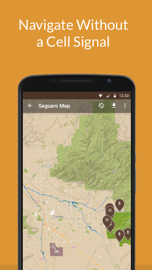Saguaro Natl Park by Chimani- screenshot