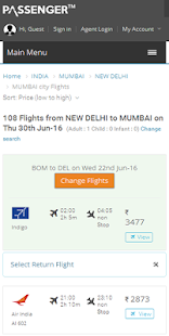 Cheap Flight Ticket Booking, Bus, Hotel, Holidays- screenshot thumbnail
