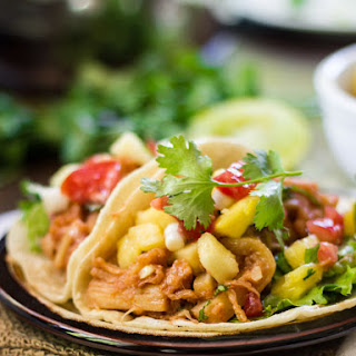 Vegan Pulled Pork Tacos with Pineapple Salsa