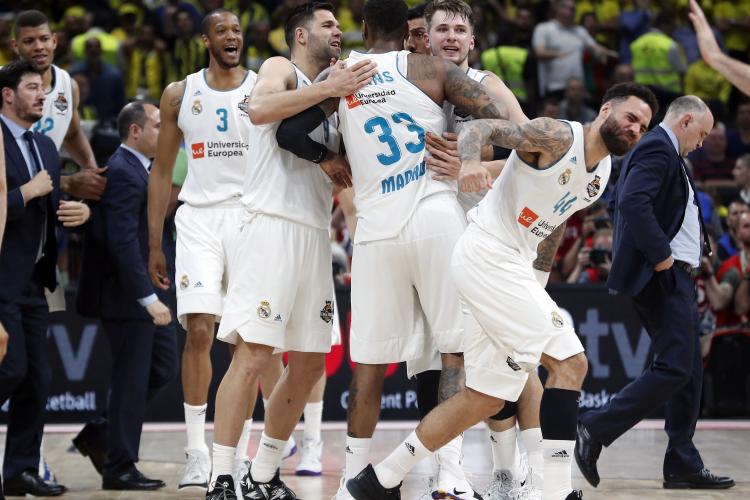 Euroligue : le Real Madrid remporte le duel au sommet face au Fenerbahçe