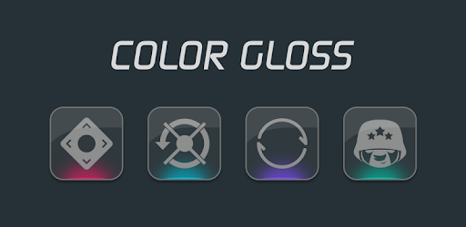 Color Gloss - Icon Pack app for Android screenshot