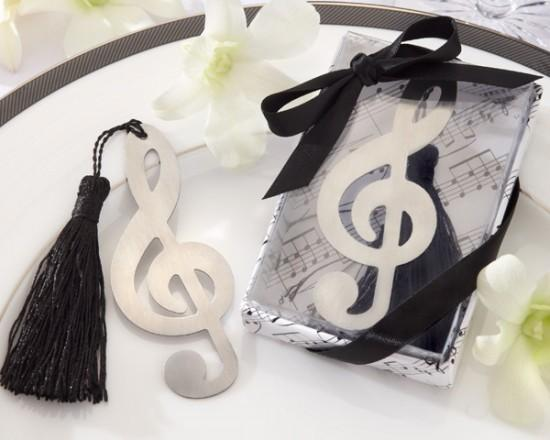 Music Note Bookmark from Hotref.com