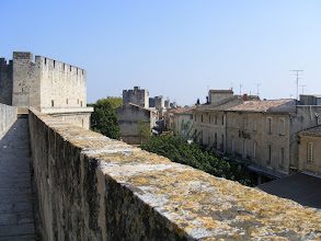 Photo: The interior medieval buildings are considered exceptionally well preserved, as the high ramparts protect them from the salty winds.