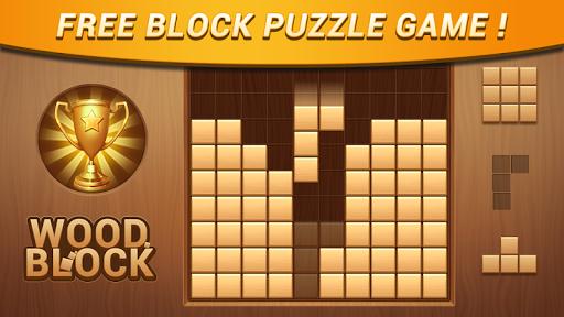 Wood Block - Classic Block Puzzle Game apktram screenshots 5