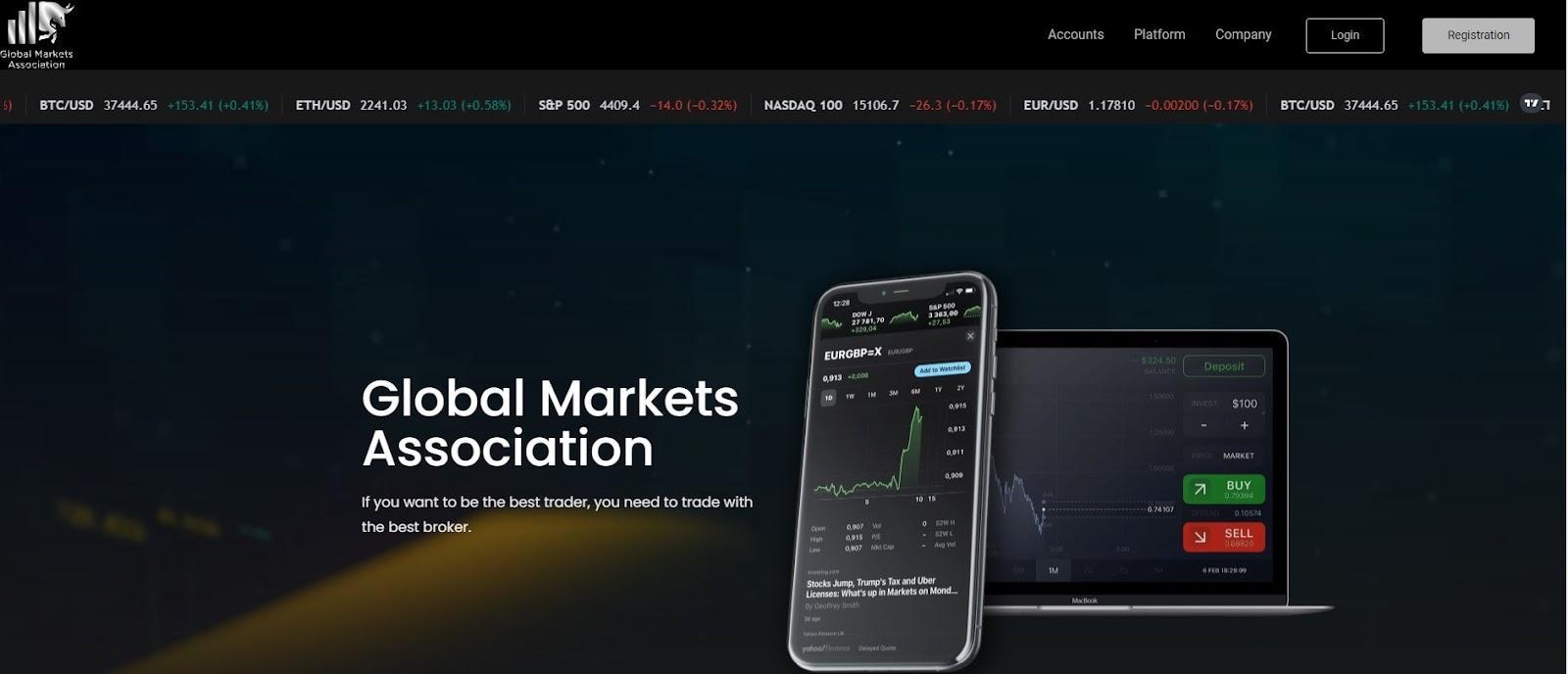 Global Market Association: отзывы, обзор торговых условий и деятельности