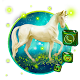 3D Unicorn Glass Tech Theme Download on Windows