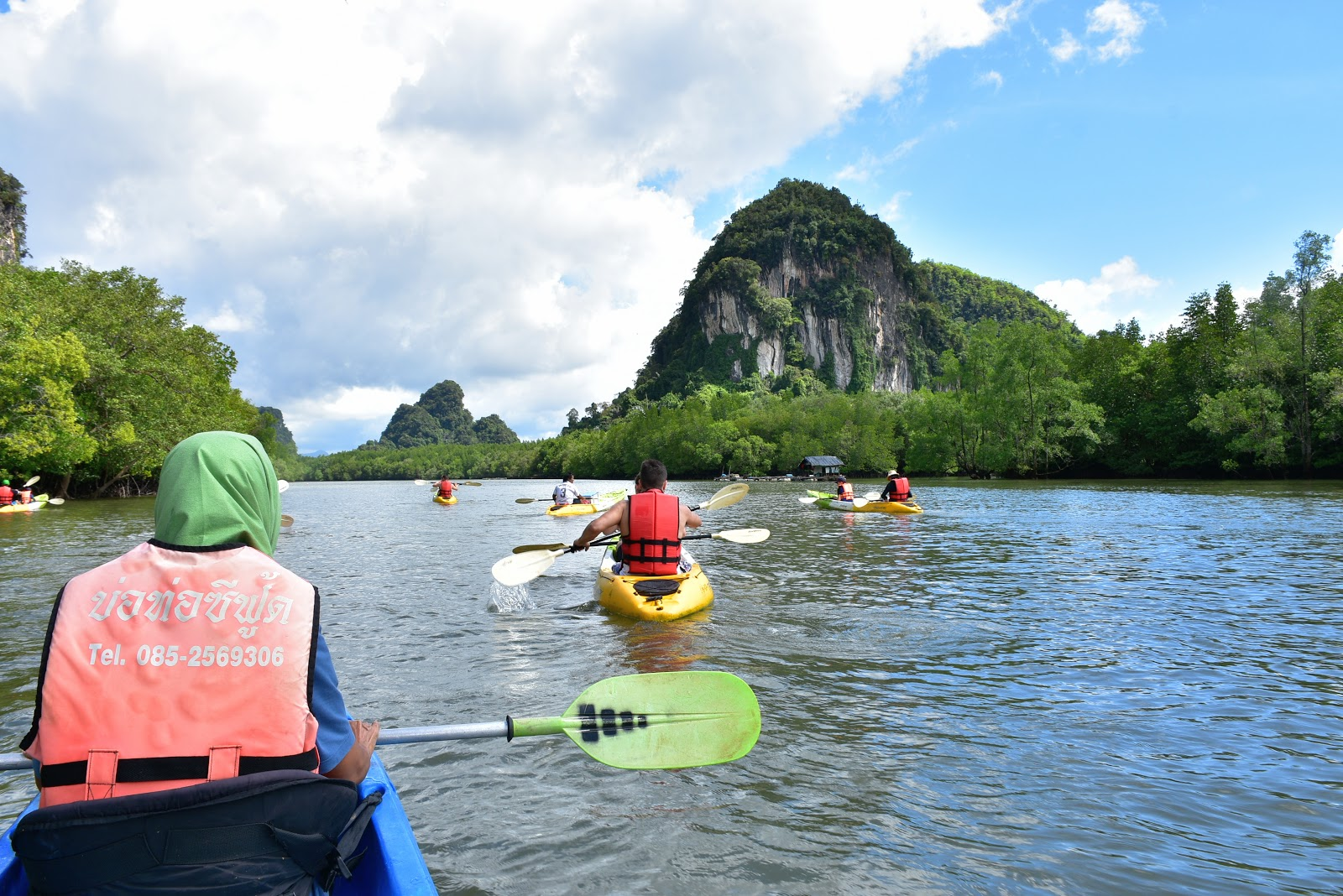 Full-Day Sea Cave Kayaking Adventure at Bor Thor in Krabi