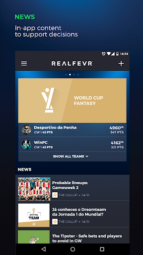 RealFevr - Fantasy Sports 4.4.6 screenshots 5