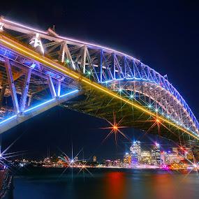 Sydney Harbor Bridge by Sim Kim Seong - Buildings & Architecture Bridges & Suspended Structures