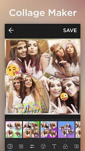 Collage Maker Pro - Pic Editor & Photo Collage Android App Screenshot