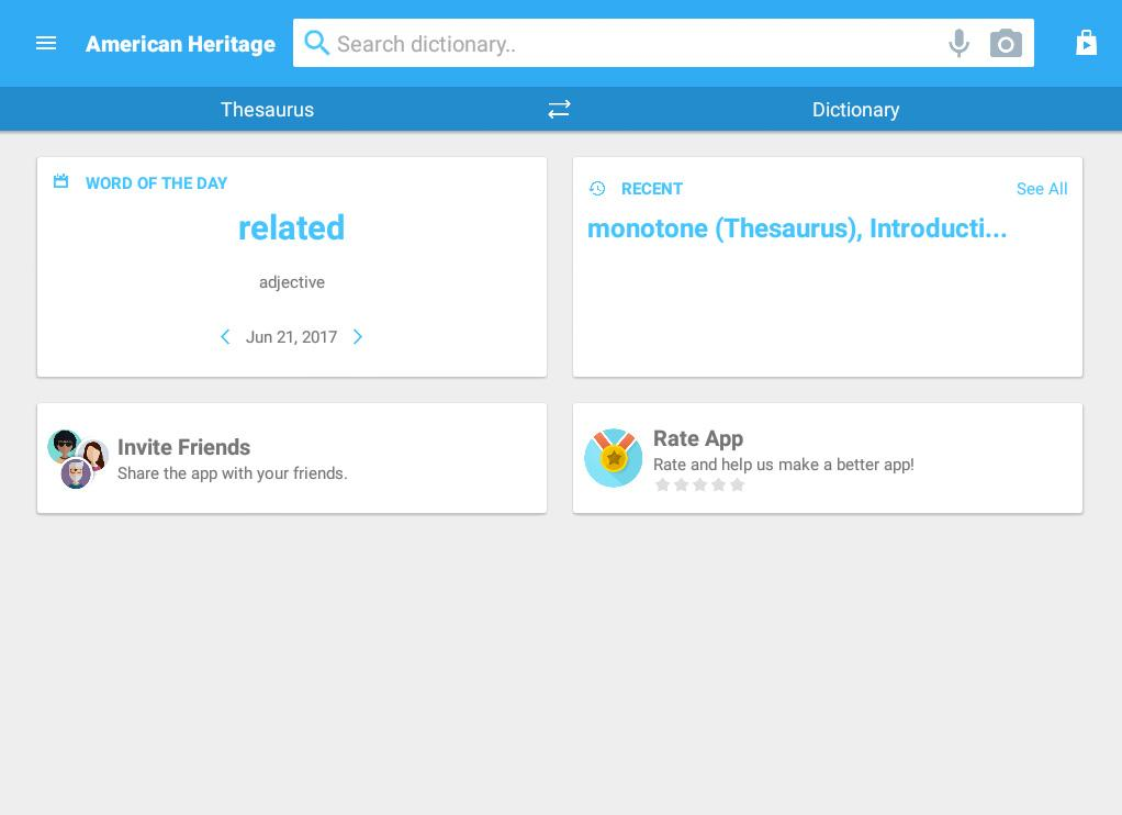 American Heritage English Free- screenshot