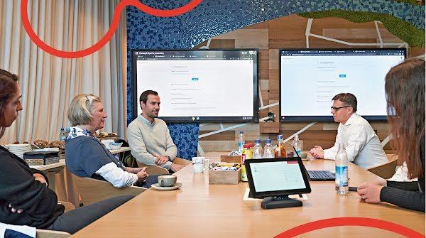 Vier Aufbruch-Leser besuchten das Google Safety Engineering Center