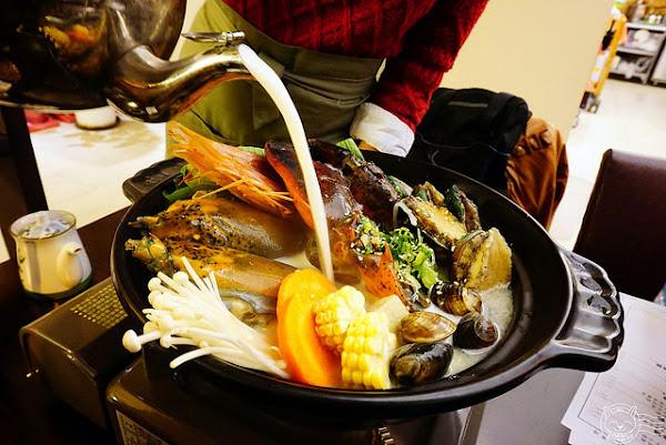 鈺鮮創意日式料理 龍蝦鮑魚超澎派牛奶火鍋,餐點口味不錯CP值挺高,推薦師傅配餐喔依西唷~
