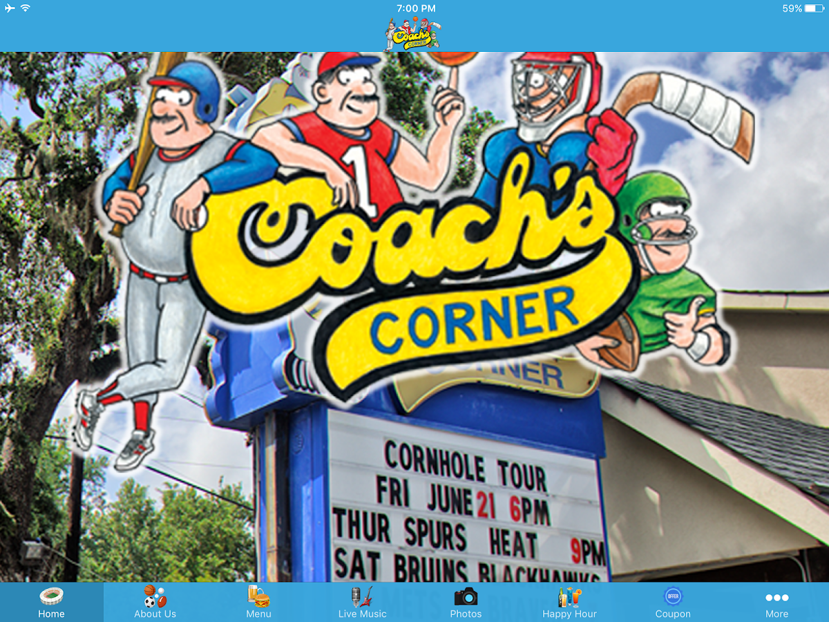 Coach's Corner- screenshot
