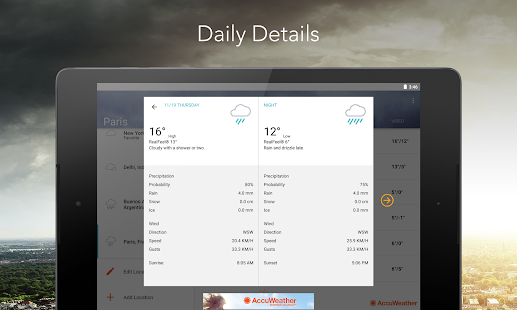 AccuWeather Screenshot 12