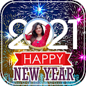 New Year Photo Frame   New Year Photo Editor icon