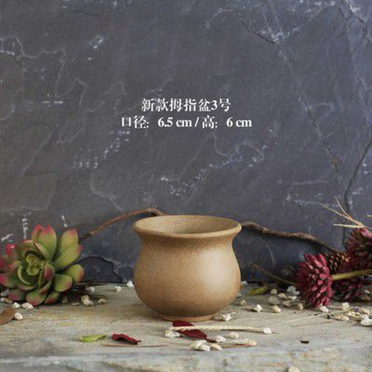 Miniature Ceramic Pot - 05 by AquaticsForevers Enterprise