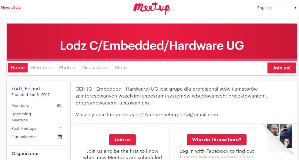 Lodz C Embedded Hardware UG  Łódź    Meetup.png