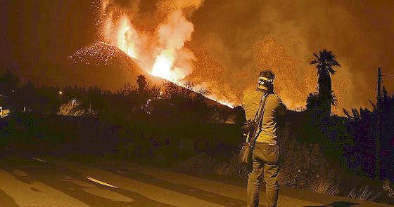 Cuatro días en el infierno de fuego y lava de la isla de La Palma