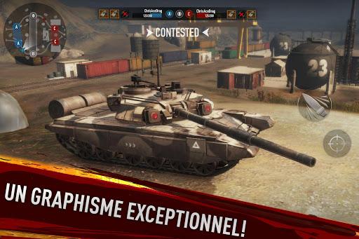 War of Tanks: PvP Blitz  captures d'écran 2